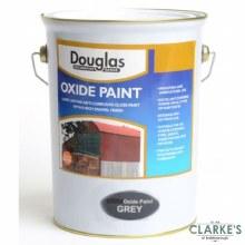 Douglas Dark Grey Oxide Metal Paint 5 Litre