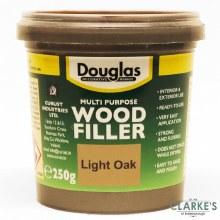 Douglas Multi Purpose Wood Filler Light Oak 250g