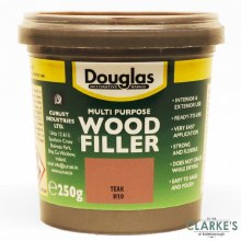 Douglas Multi Purpose Wood Filler Teak 250g