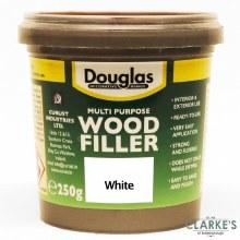 Douglas Multi Purpose Wood Filler White 250g