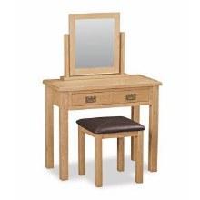Salisbury Lite Oak Dressing Table Set