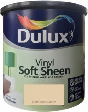 Dulux Soft Sheen Traditional Cream 2.5L