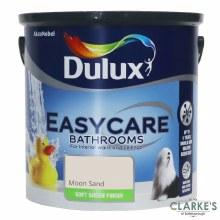 Dulux Easycare Bathrooms Paint Moon Sand 2,5 Litre