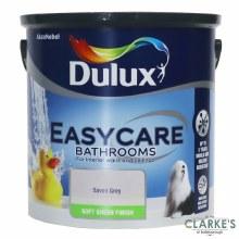 Dulux Easycare Bathrooms Paint Savon Grey 2.5 Litre