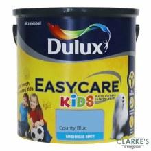 Dulux Easycare Kids Paint County Blue 2.5 Litre