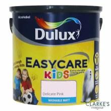 Dulux Easycare Kids Paint Delicate Pink 2.5 Litre