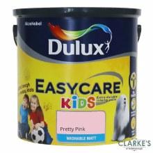 Dulux Easycare Kids Paint Pretty Pink 2.5 Litre