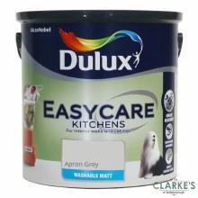 Dulux Easycare Kitchens Paint Apron Grey 2.5 Litre
