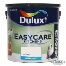 Dulux Easycare Kitchens Paint Chef's Hat 2.5 Litre
