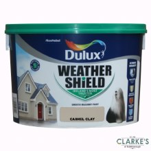 Dulux Weather Shield Cashel Clay 10Ltr