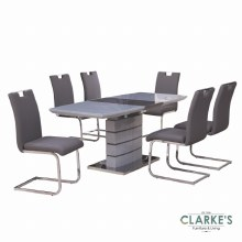 Elena Extending Table and 6 Chairs