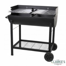 Barrel Barbecue Grill