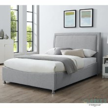 Emelia 5ft Ottoman Bed Frame Light Grey