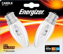 Energizer 33W Candle B22 Bulb