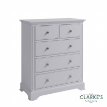 Eva Grey Collection 2 Over 3 Drawer Chest