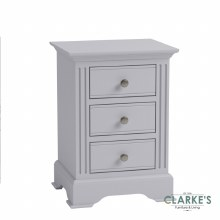 Eva Grey Collection Large Bedside Locker