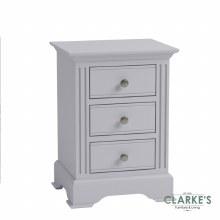 Eva Grey Collection Large Bedside Locker