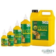 EverBuild 502 Wood Adhesive 5 Litre