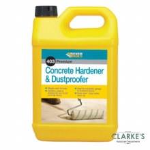 Everbuild 403 Premium Concrete Hardener & Dustproofer 5 Litre