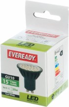 Eveready 3W Cool White Spot GU10 Bulb