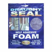 Exitex Draught Seal - Self Adhesive Foam Brown 5 Meter