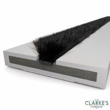 ExiFire Intumescent Door Fire and Smoke Seal White