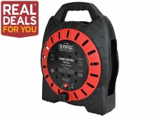 Faithfull Cable Reel 10m 13amp