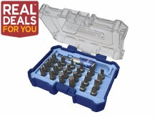 Faithfull Screwdriver Bit Set