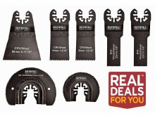 Faithfull 7 Pieces Multitool Blade Set