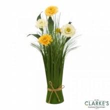 Mellow Yellow - Faux Flower Bouquet 40cm