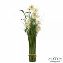 Pearl Bloom - Faux Flower Bouquet 70cm