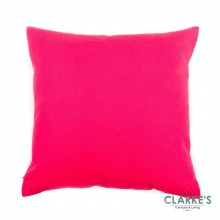 Candy Pink Cotton Cushion
