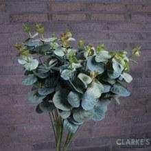 Eucalyptuss Green Artificial Flower Bunch
