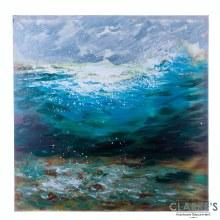 Ocean Wave - Wall Art on Canvas