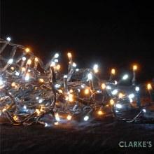 300 LED Firefly Lights - Cool White - Warm White 7.7 Meter