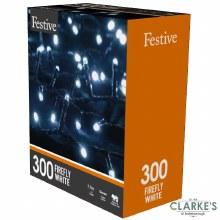 300 LED Firefly Lights - Cool White 7.7 Meter