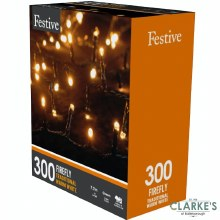 300 LED Firefly Lights - Warm White 7.7 Meter