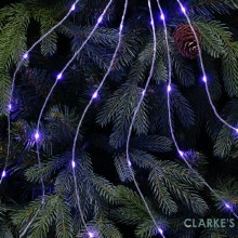 Micro LED Christmas Tree Branch Lights - Lilac 2 m