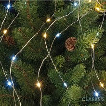 Micro LED Christmas Tree Branch Lights - White / Warm White 2m