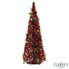 Red Berry Christmas Tree 80cm