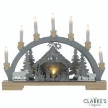 Nativity Candle Bridge Battery Operated 45cm