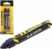F.F.Group Blue Crayons Pack of 2