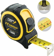 F.F. Group Power Lock Measuring Tape 7.5m