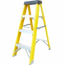 Safeline 4 Steps Fibreglass Ladder