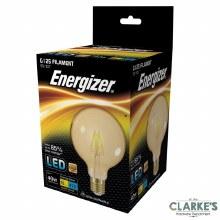 Energizer LED Filament 5W (40W) G125 E27 Amber Light Bulb
