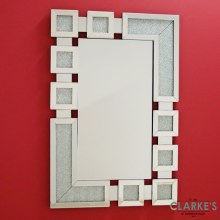 Finestra Invernale luxury wall mirror 80x120cm