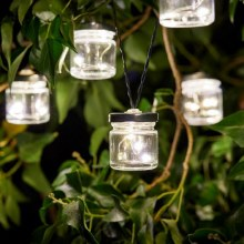 Firefly Solar Jar String Light 10 Jars