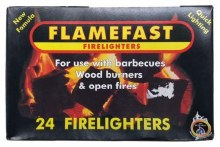 Flamefast firelighter 24s