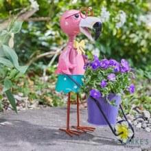 Flamingo Garden Decoration Planting Pot