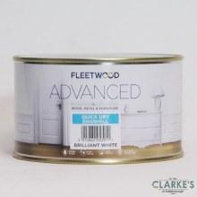 Fleetwood Advanced Quick Dry Eggshell Paint White 500 ml